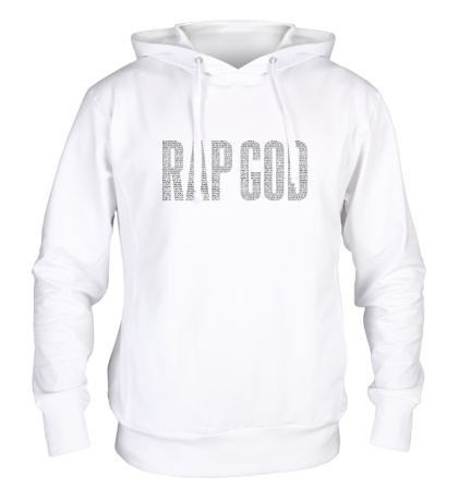Толстовка с капюшоном Rap God