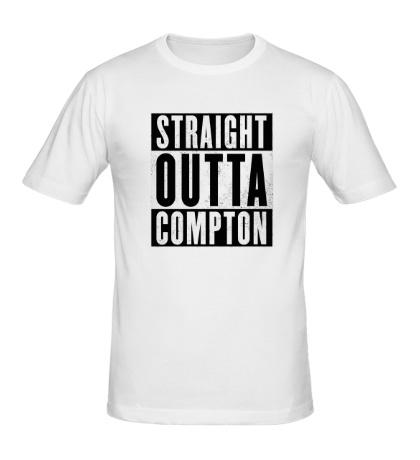 Мужская футболка Straight Outta Comption