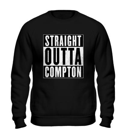 Свитшот Straight Outta Comption