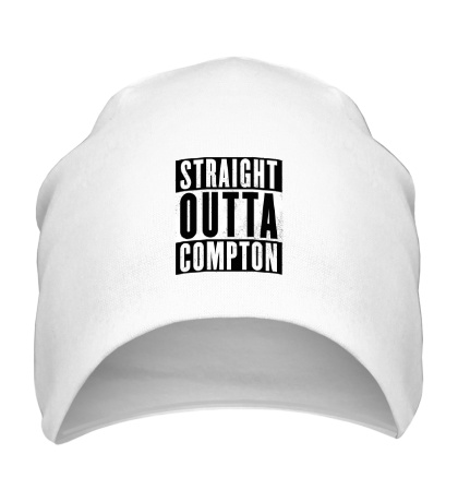 Шапка Straight Outta Comption
