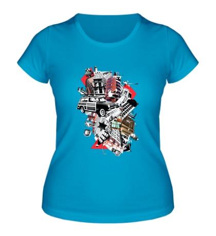 Женская футболка City Art