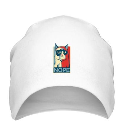 Шапка Nope Cat