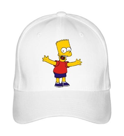 Бейсболка Барт разводит руками