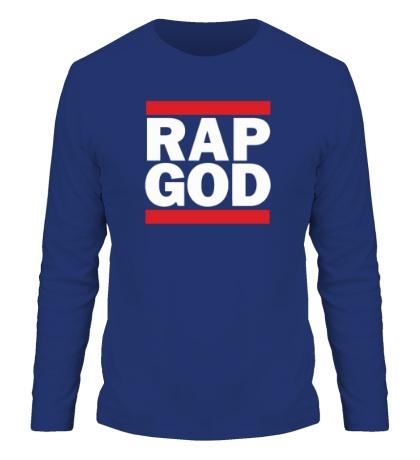 Мужской лонгслив Rap God