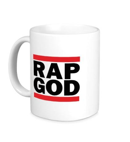 Керамическая кружка Rap God