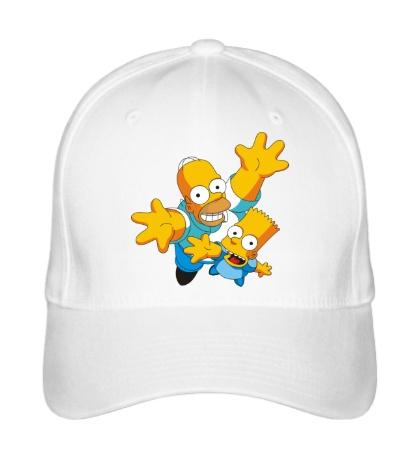 Бейсболка Гомер и Барт