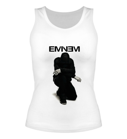Женская майка Eminem: Black Rap