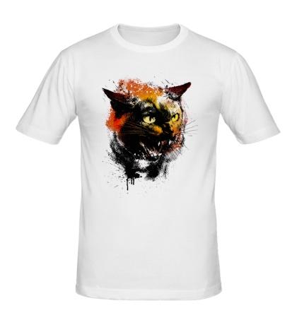 Мужская футболка Cat grange