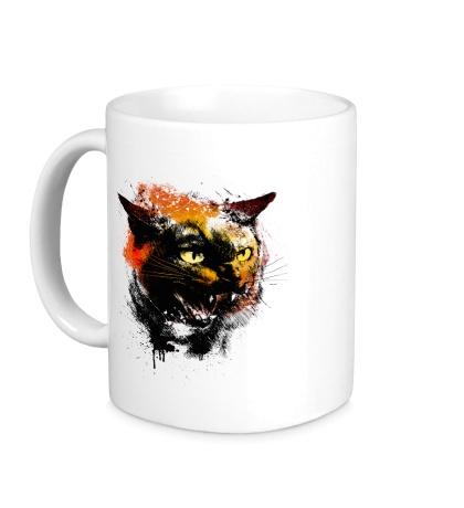 Керамическая кружка Cat grange