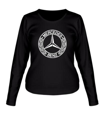 Женский лонгслив Mercedes-Benz