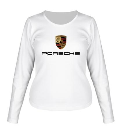 Женский лонгслив Porsche Mark