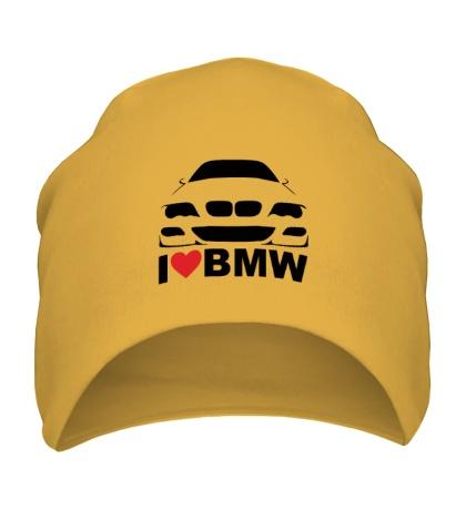 Шапка Love BMW
