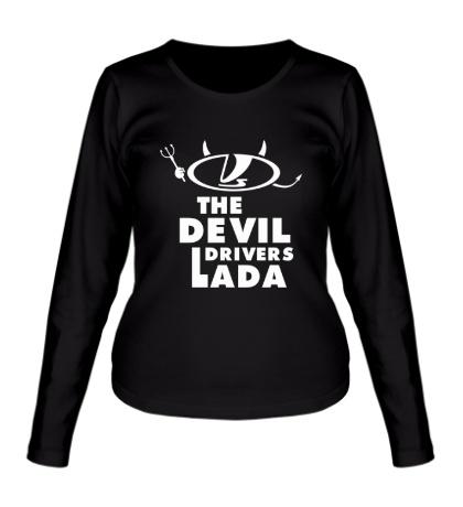 Женский лонгслив Devil Drivers Lada