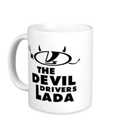 Керамическая кружка Devil Drivers Lada