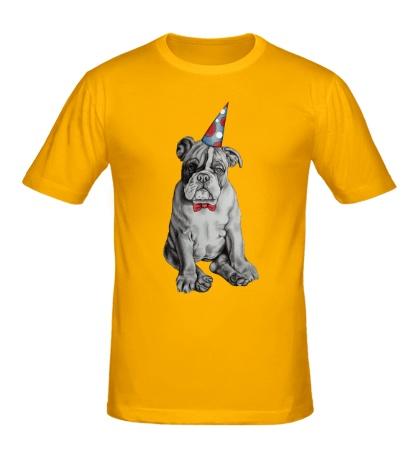 Мужская футболка Собачья вечеринка