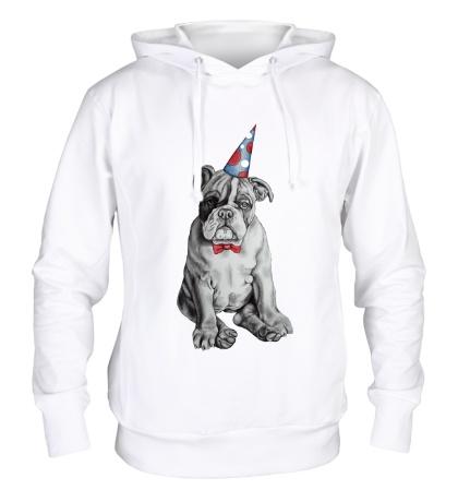 Толстовка с капюшоном Собачья вечеринка