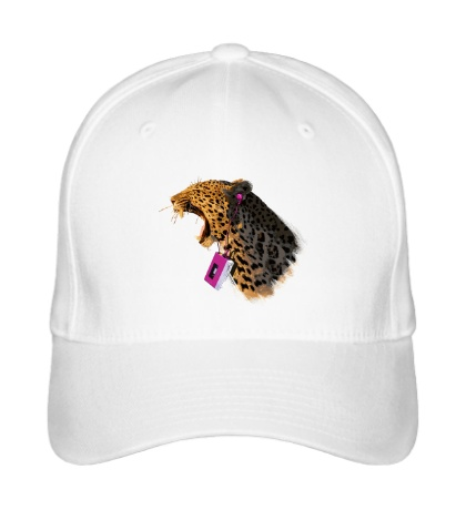 Бейсболка Леопард меломан