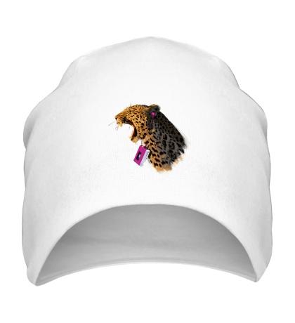 Шапка Леопард меломан