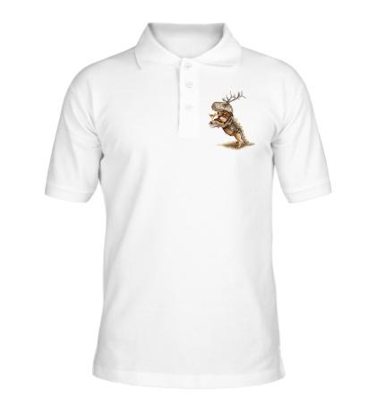 Рубашка поло Мопс на вечеринке