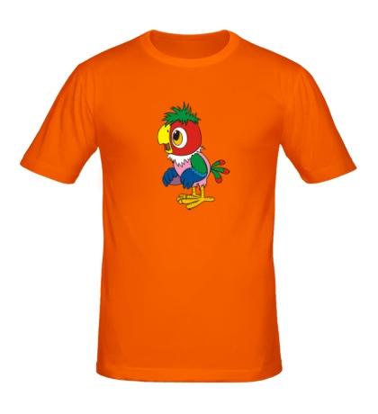 Мужская футболка Попугай Кеша