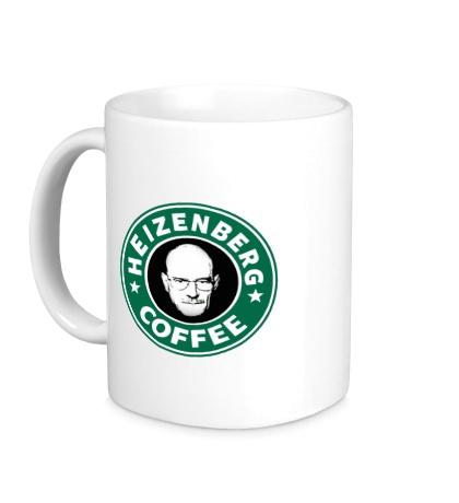 Керамическая кружка Heisenberg starbucks coffe