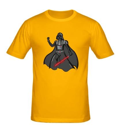 Мужская футболка Darth Vader: Red Laser