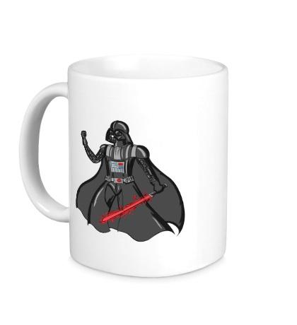 Керамическая кружка Darth Vader: Red Laser