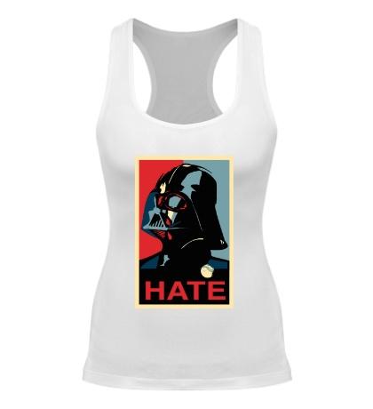 Женская борцовка Darth Vader: Hate Art