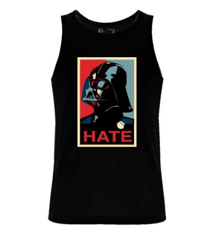 Мужская майка Darth Vader: Hate Art