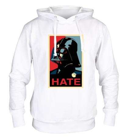 Толстовка с капюшоном Darth Vader: Hate Art