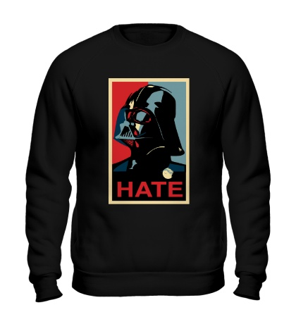 Свитшот Darth Vader: Hate Art