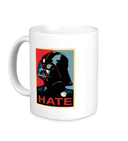 Керамическая кружка Darth Vader: Hate Art