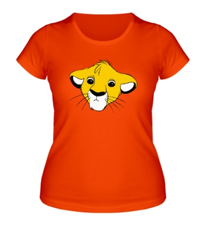 Женская футболка Грустный Симба