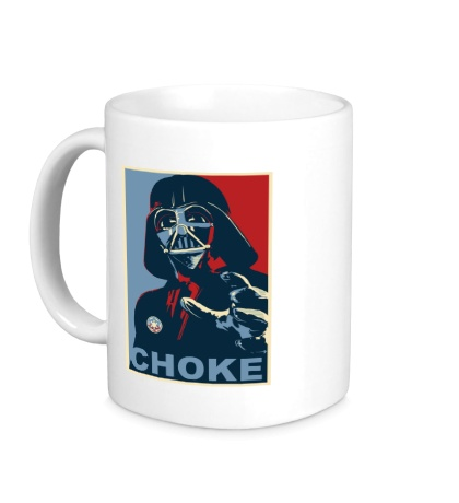 Керамическая кружка Darth Vader: Choke Art