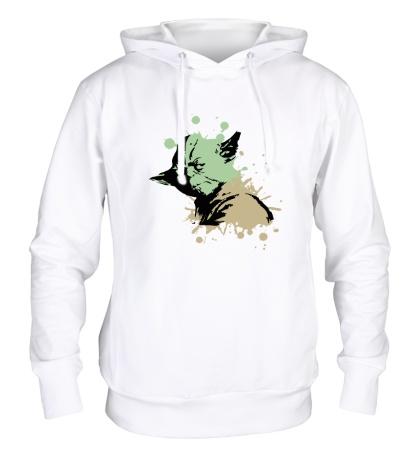 Толстовка с капюшоном Yoda Stain