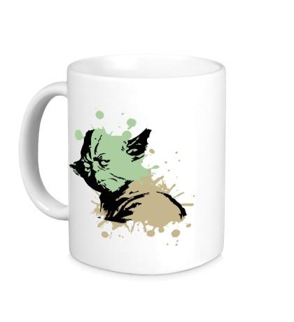 Керамическая кружка Yoda Stain