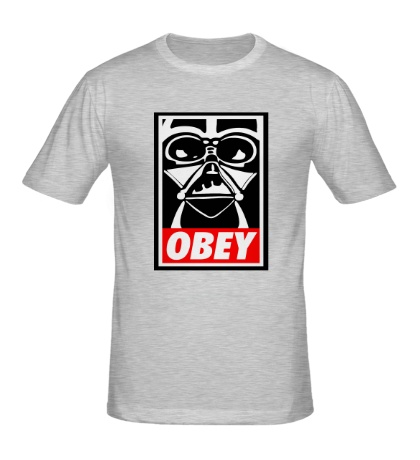 Мужская футболка Darth Vader: Obey Art