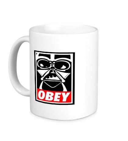 Керамическая кружка Darth Vader: Obey Art