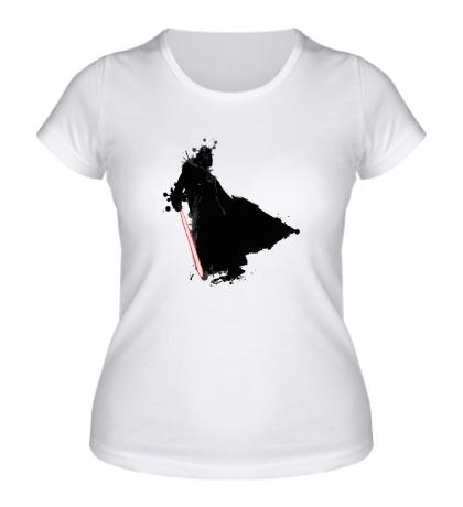 Женская футболка Darth Vader Stain