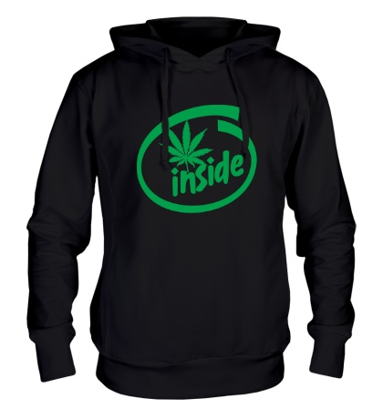 Толстовка с капюшоном Marijuana Inside