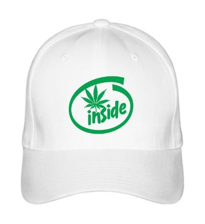 Бейсболка Marijuana Inside