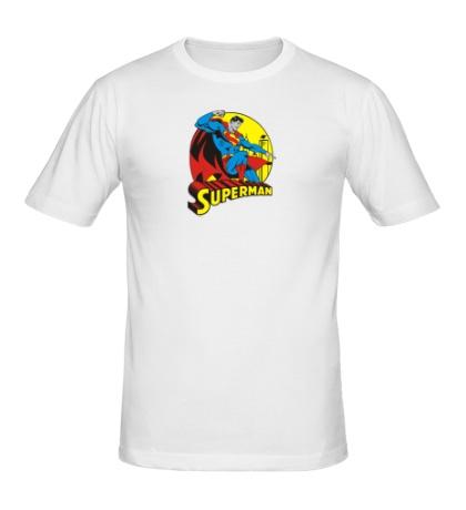 Мужская футболка Faster Superman