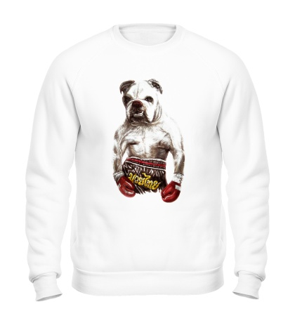 Свитшот Пёс-боксёр