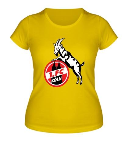 Женская футболка Кёльн