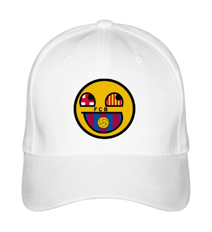 Бейсболка FC Barcelona: Smile