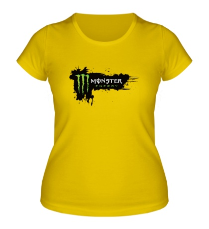 Женская футболка Monster Energy Grunge