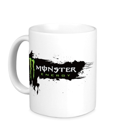 Керамическая кружка Monster Energy Grunge