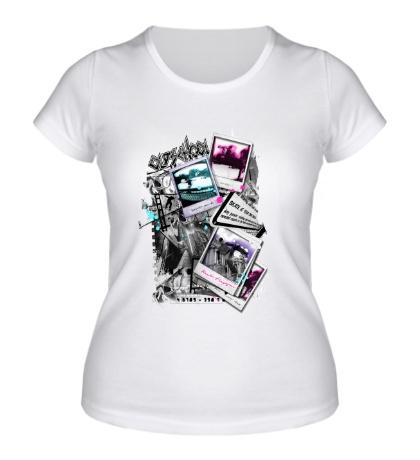 Женская футболка Skate City Polaroid