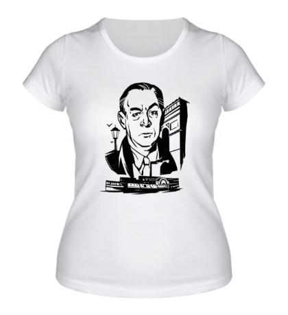Женская футболка Эрих Мария Ремарк