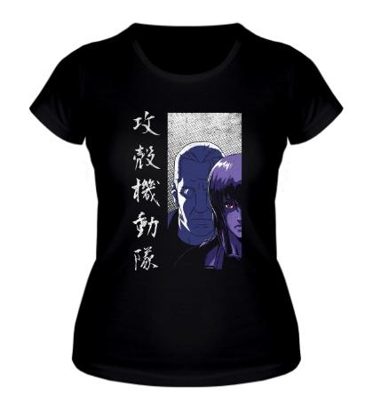 Женская футболка Section 9